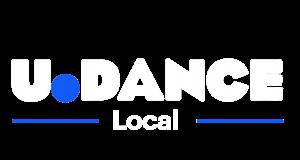 U.Dance Local Logo White Badge